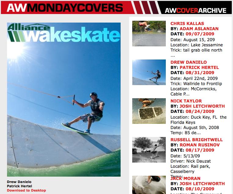 Alliance Wakeskate Monday Cover